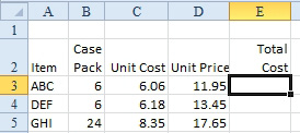 Excel: Three Methods of Entering Formulas - Excel Articles