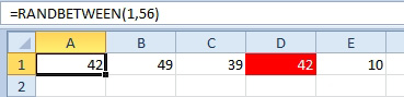 Excel: Generate Random Without Repeats - Excel Articles